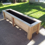 Std Capped Planter Box
