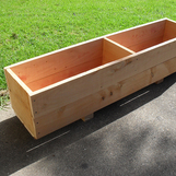 Macrocarpa Box Planter